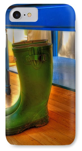 Boots IPhone Case by Mark Alder