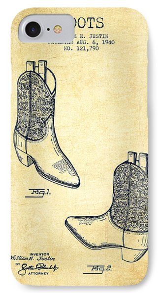 Boots Patent From 1940 - Vintage IPhone Case by Aged Pixel