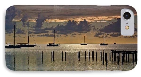 IPhone Case featuring the photograph Boqueron Sunset by Ricardo J Ruiz de Porras