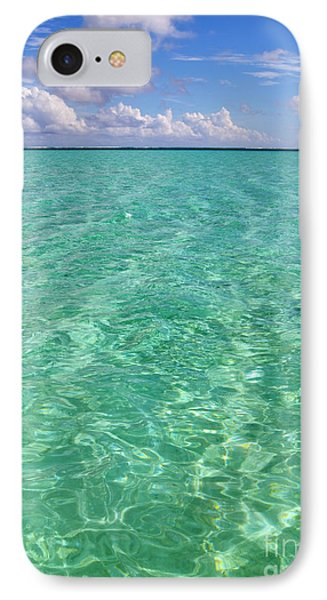 Bora Bora Green Water II IPhone Case by Eva Kaufman