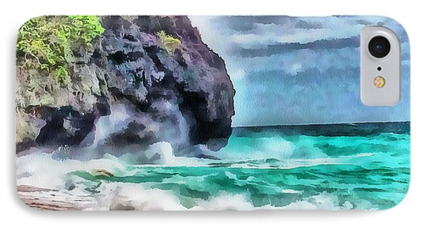 Boracay Puka Beach 1 IPhone Case by Yury Malkov