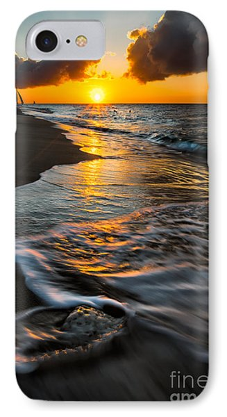 Boracay Sunset IPhone Case by Adrian Evans