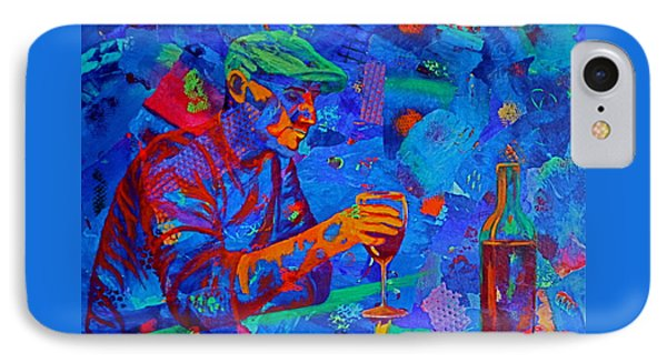 IPhone Case featuring the painting Bordeaux by Nancy Jolley