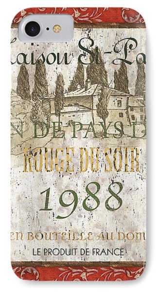 Bordeaux Rouge 1 IPhone Case by Debbie DeWitt