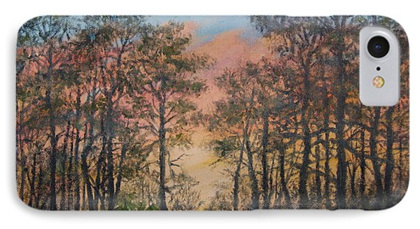 Border Pines IPhone Case by Kathleen McDermott
