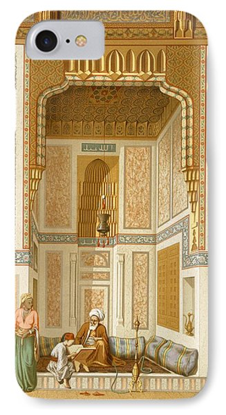 Bordeyny Mosque, Cairo IPhone Case by French School