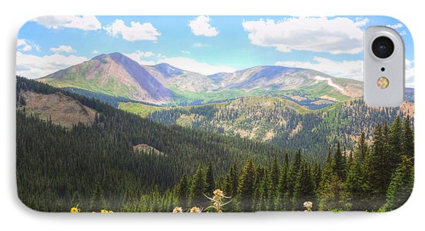 Boreas Pass Summer IPhone Case by Lanita Williams