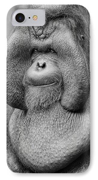 Bornean Orangutan IIi IPhone 7 Case by Lourry Legarde