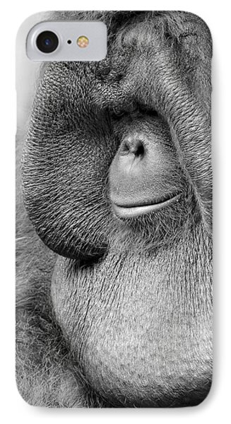 Bornean Orangutan V IPhone 7 Case by Lourry Legarde
