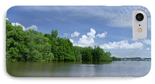 Borneo, Brunei Dense Mangrove Forest IPhone Case by Cindy Miller Hopkins