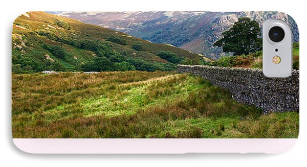 IPhone Case featuring the photograph Borrowdale Valley In The Lake District by Jane McIlroy