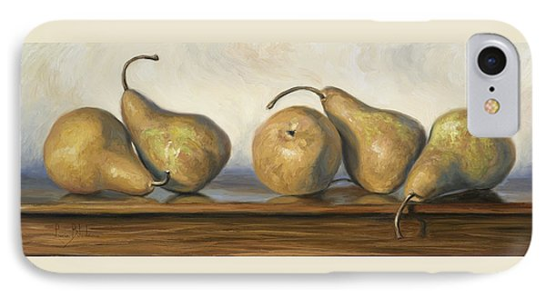 Bosc Pears Phone Case by Lucie Bilodeau