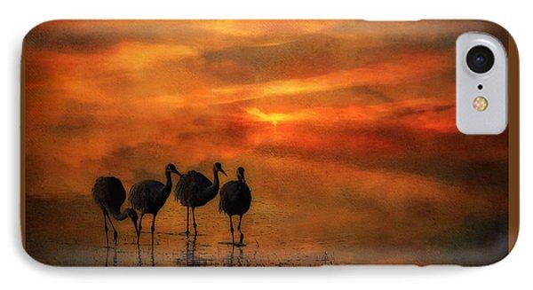 Bosque Sunset Phone Case by Priscilla Burgers