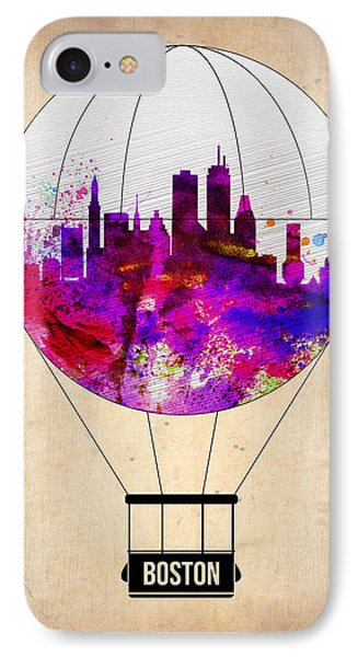Boston Air Balloon IPhone Case by Naxart Studio