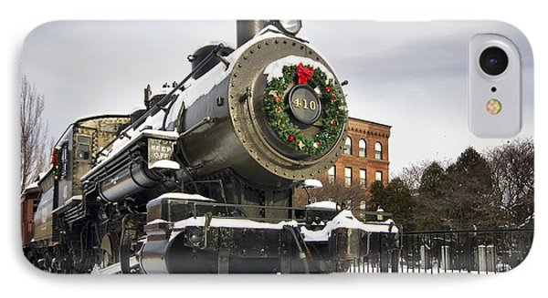 Boston And Maine Locomotive Phone Case by Eric Gendron