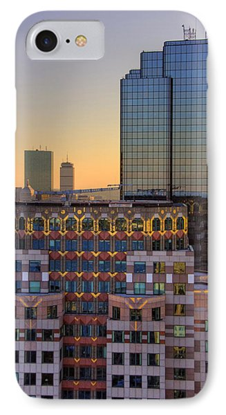 Boston Architecture Reflections IPhone Case