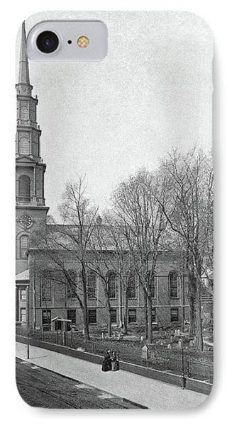 Boston Church, C1870 IPhone Case by Granger