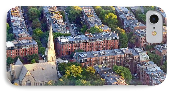 IPhone Case featuring the photograph Boston Church by Cheryl Del Toro
