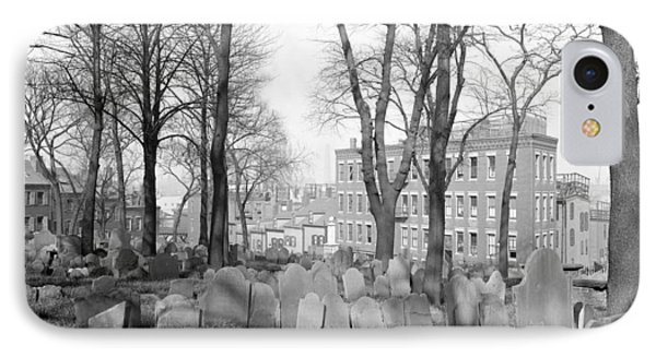 Boston Copp's Hill, C1904 IPhone Case by Granger