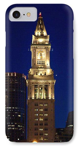 Boston Custom House IPhone Case by Joann Vitali