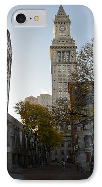 Boston Custom House IPhone Case by Toby McGuire