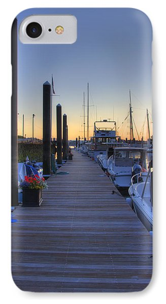 Boston Dock Sunrise Phone Case by Joann Vitali