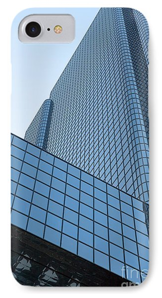 Boston Exchange Place I IPhone Case by Clarence Holmes