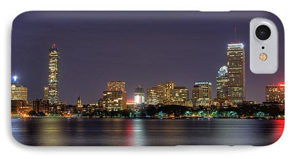 Boston From Memorial Drive IPhone Case by Joann Vitali