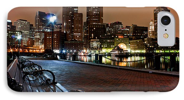 Boston Harbor  IPhone Case by John McGraw