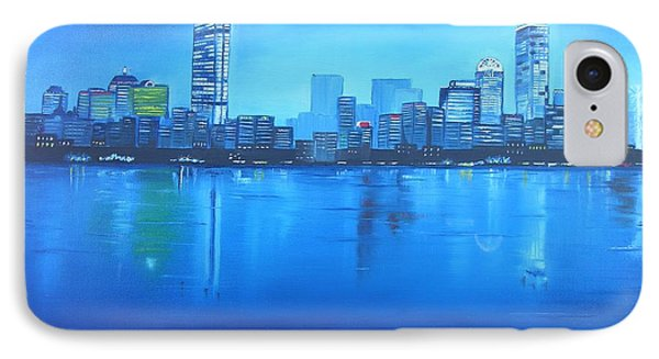 IPhone Case featuring the painting Boston IIi by Barbara Hayes