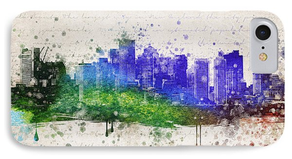 Boston In Color IPhone Case by Aged Pixel