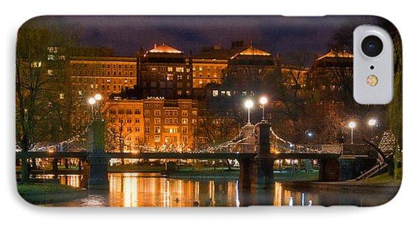 Boston Lagoon Bridge 2 Phone Case by Joann Vitali