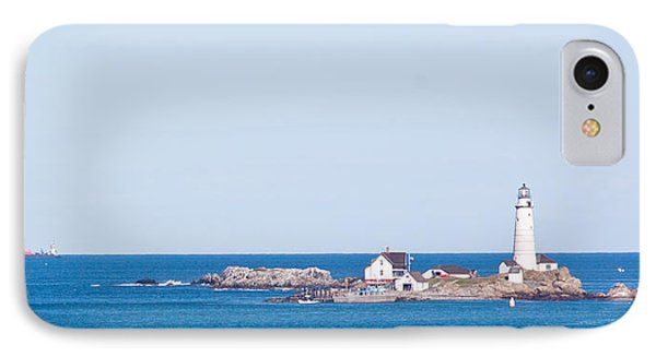 Boston Lighthouse IPhone Case by Georgia Fowler
