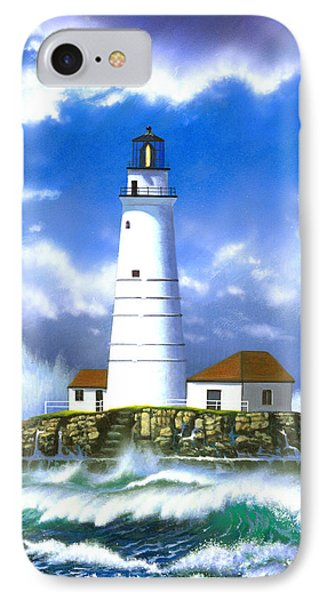 Boston Light Phone Case by MGL Studio - Chris Hiett