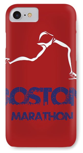 Boston Marathon1 IPhone Case by Joe Hamilton