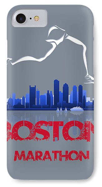 Boston Marathon3 IPhone 7 Case
