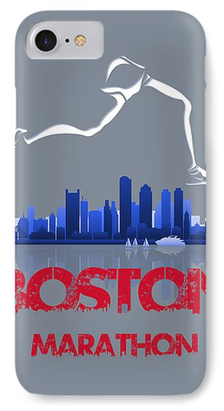 Boston Marathon3 IPhone Case by Joe Hamilton