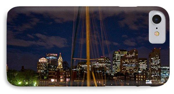 Boston Mass  IPhone Case by John McGraw