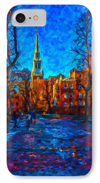Boston IPhone Case by Michael Petrizzo
