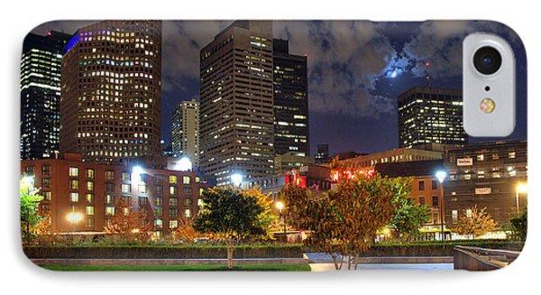 Boston Nights3 IPhone Case