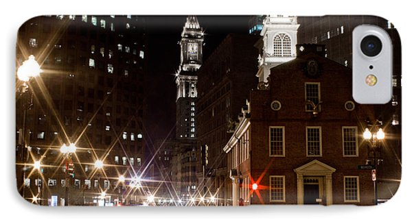 Boston Old City Hall 2 IPhone Case by John McGraw
