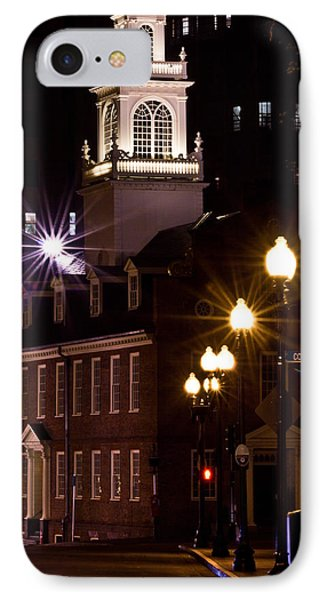 Boston Old City Hall IPhone Case by John McGraw