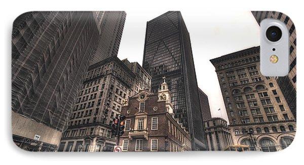 Boston Old State House Phone Case by Joann Vitali
