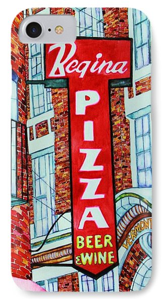 Boston Pizzeria  Phone Case by Janet Immordino