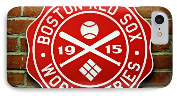 Boston Red Sox 1915 World Champions Phone Case by Stephen Stookey