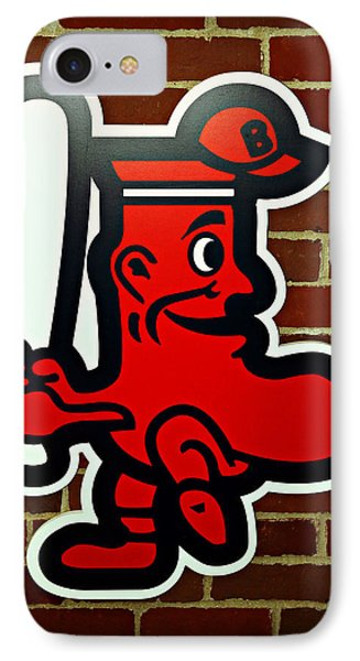 Boston Red Sox 1950s Logo Phone Case by Stephen Stookey