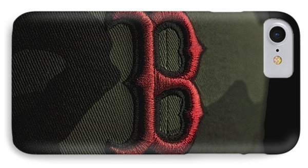 Boston Red Sox IPhone Case by David Haskett