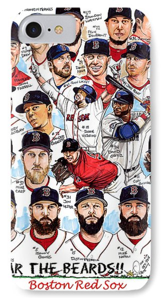 Boston Red Sox Ws Champions Phone Case by Dave Olsen