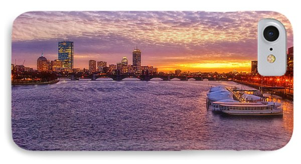 Boston Sky IPhone Case by Joann Vitali