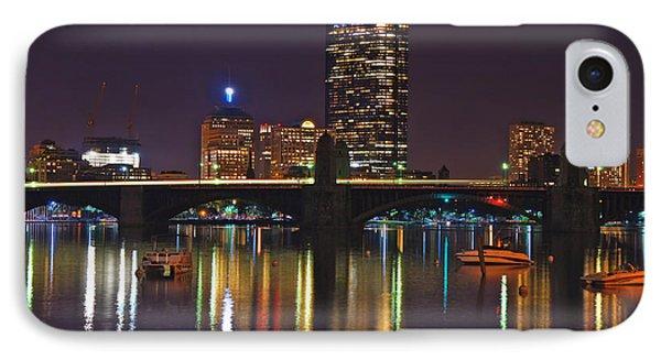 Boston Skyline 6 IPhone Case by Joann Vitali